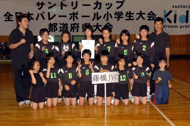 3位 駒沢JVC 3位 藤橋JVC